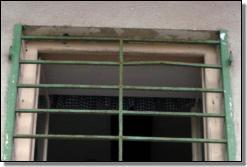 Mříž na okně