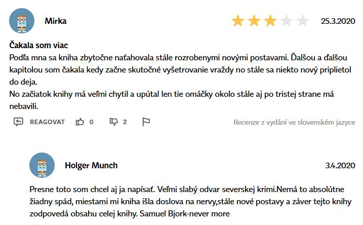 Recenze knihy na Martinus.cz