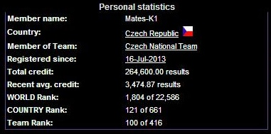 BOINC statistika